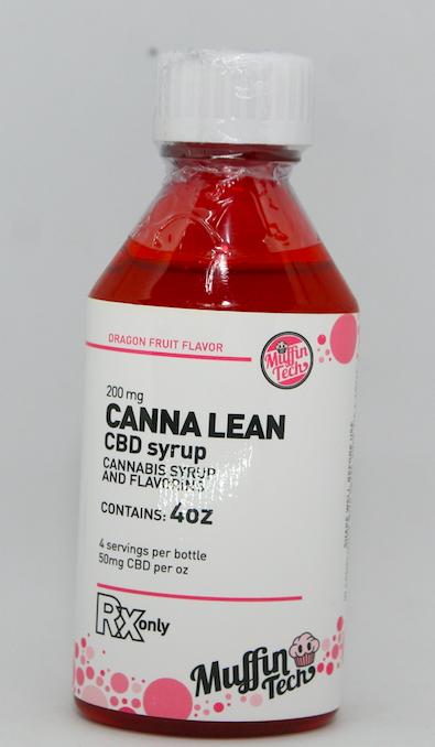 CBD Canna Lean Syrup - gogreenkush com