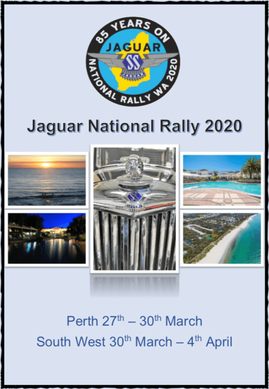 51st Jaguar National Rally in Western Australia