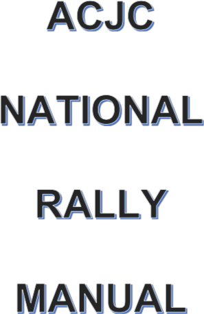 National Rally Resources