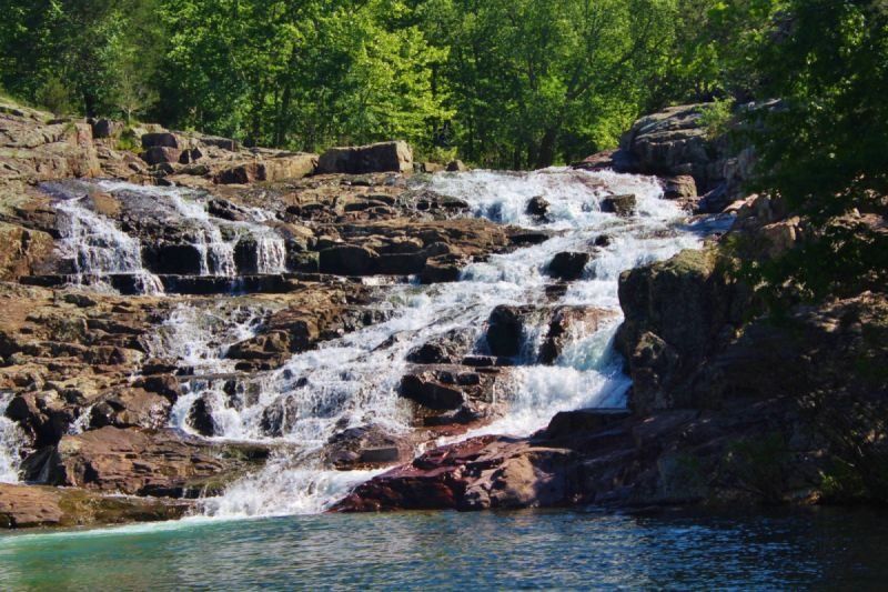 Rocky Falls - Digitally Modified