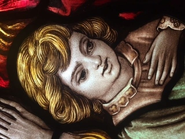 Stained Glass Window in Kilmanagh