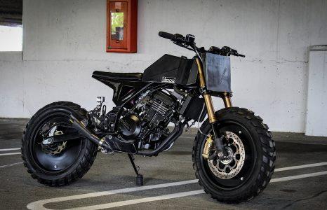 Onvoorstelbaar wat Droog Moto met de Kawasaki Ninja 250 heeft gedaan