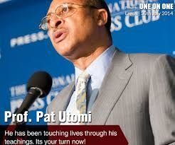 Prof Pat Utomi  Prize for Mentorship