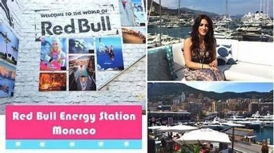 RED BULL ENERGY STATION GP F1 MONACO