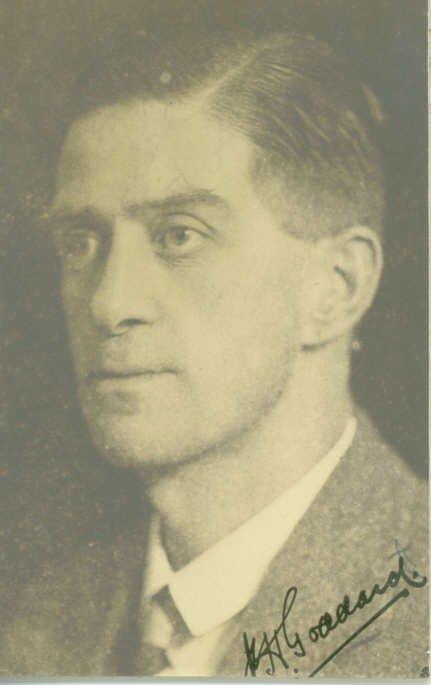1934 Mr Goddard