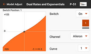DUAL RATE AND EXPO