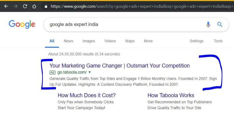 Google Ads Expert India