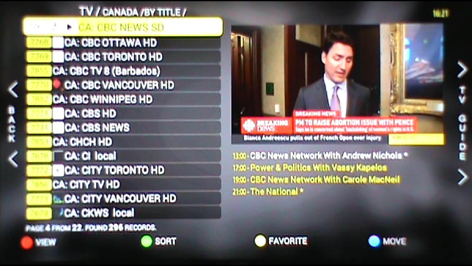 Usa 24 7 tv