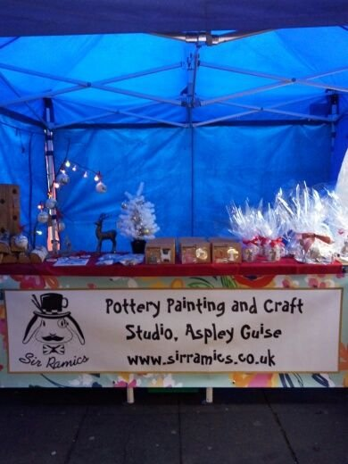 Craft Stall and Mobile Pottery Painting Unit