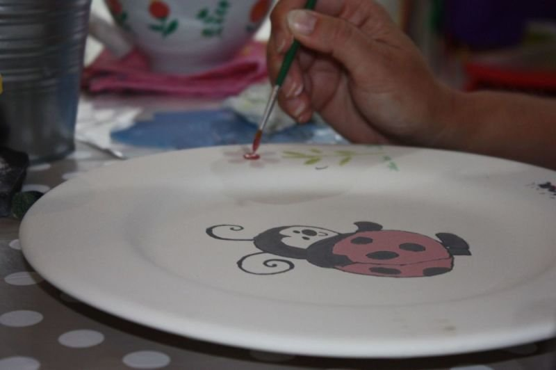 Pottery Painting Drop In Sessions at Woburn Sands Emporium