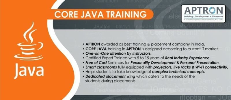 Core Java Course in Noida