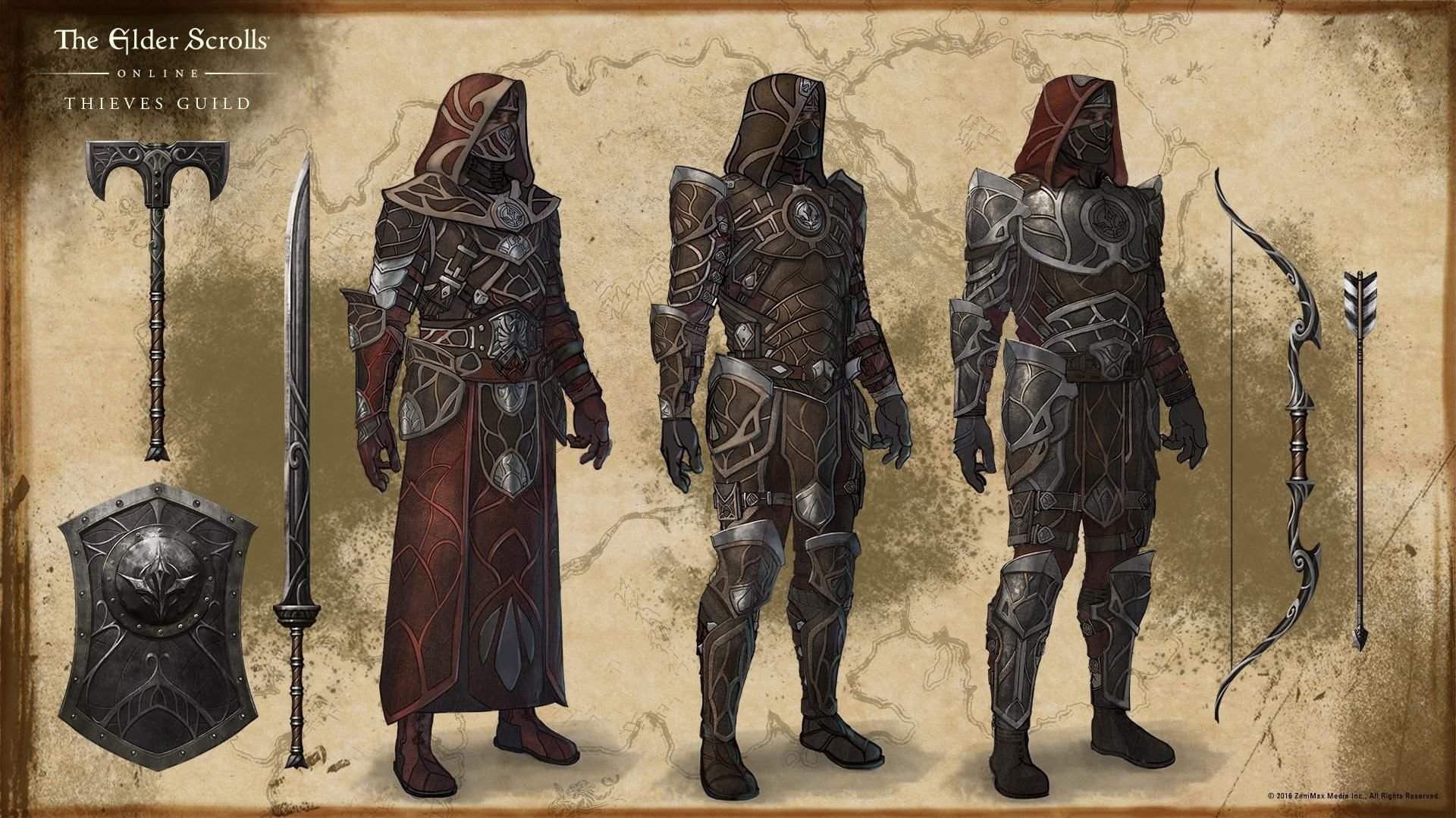 Thieves Guild Sets - ESO - Guild Wars Prophecy