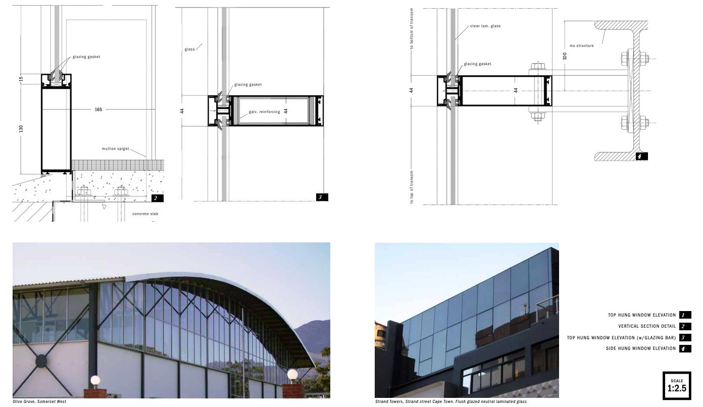 ISO100 Curtainwall - ALUPLAN ARCHITECTURAL ALUMINIUM