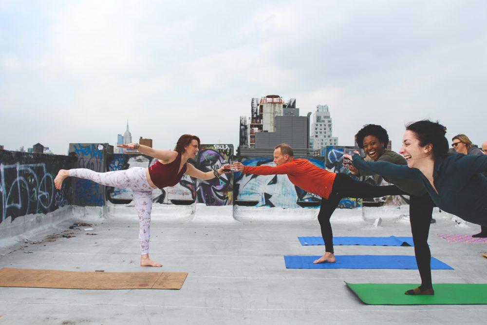 drunk yoga venice