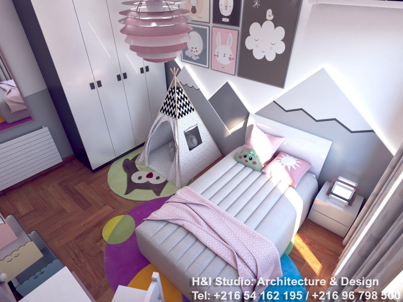 Chambre fillette - H&I STUDIO