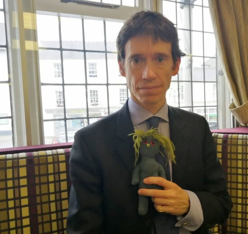With MP Rory Stewart