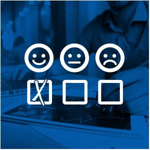 تقييم خدمة عملاء