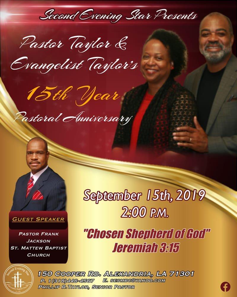Pastor's 15th Year Anniversary