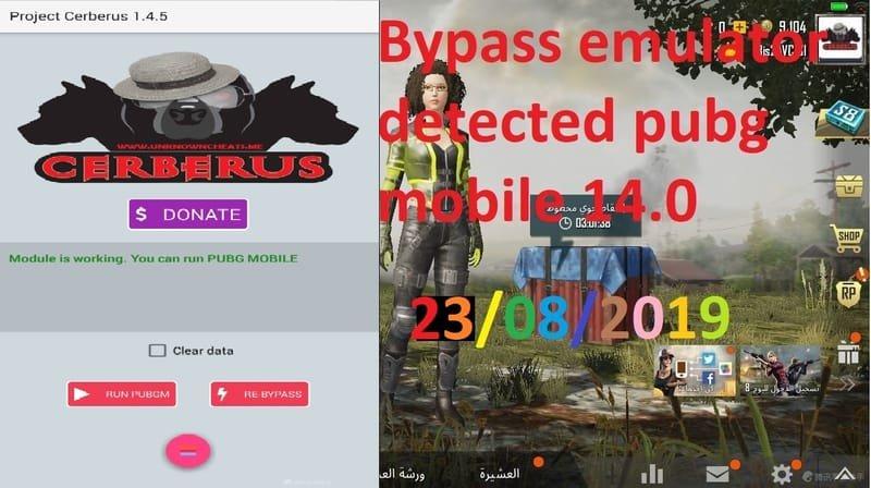 Bypass Pubg 0 14 with original version Ceberus 1 4 5 - Hack