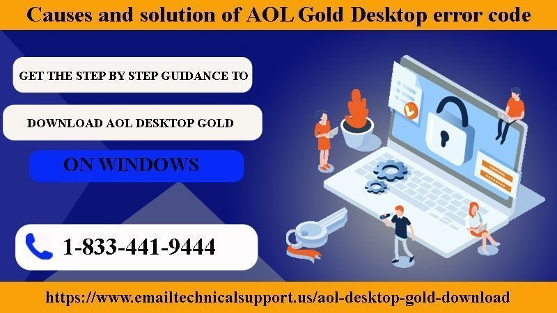 Causes and Solution of AOL Gold Desktop Error Code 104 - Email Care Tips