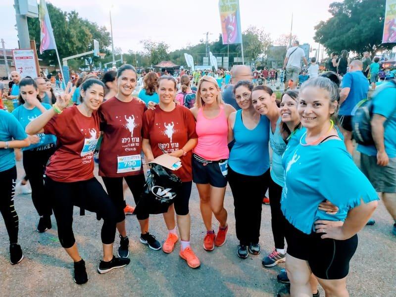 """מרוץ כפר סבא קבוצת ריצה """"רצות  להצלחה"""""""