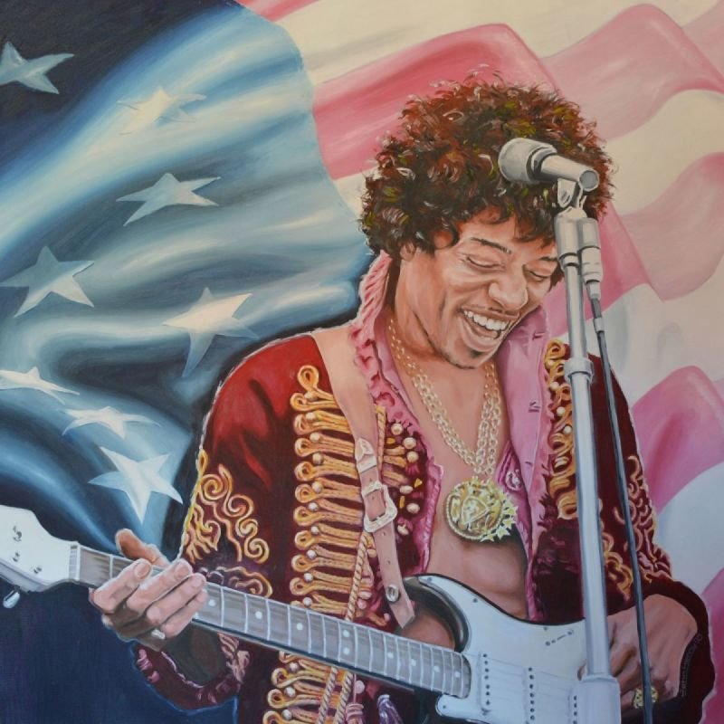 Hendrix • STARS AND STRIPES