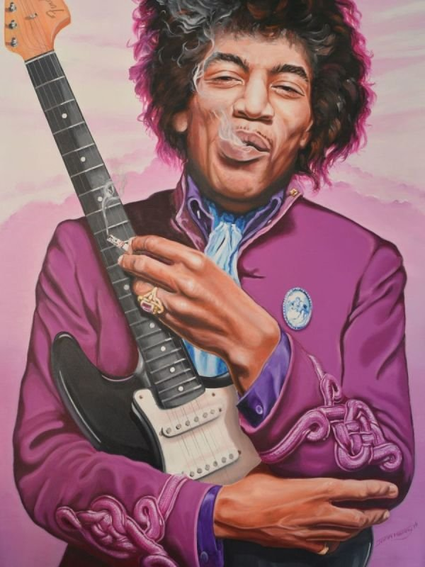 Jimi Hendrix • PURPLE HAZE REVISITED