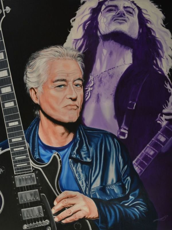 JIMMY PAGE • THEN AND NOW