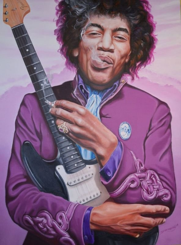 Jimmi Hendrix • PURPLE HAZE REVISITED