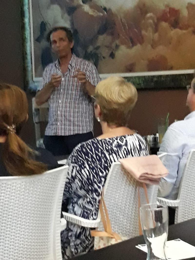 Ομιλία μου για την φαρμακευτική κάνναβη στην Βούλα 27/6/2018