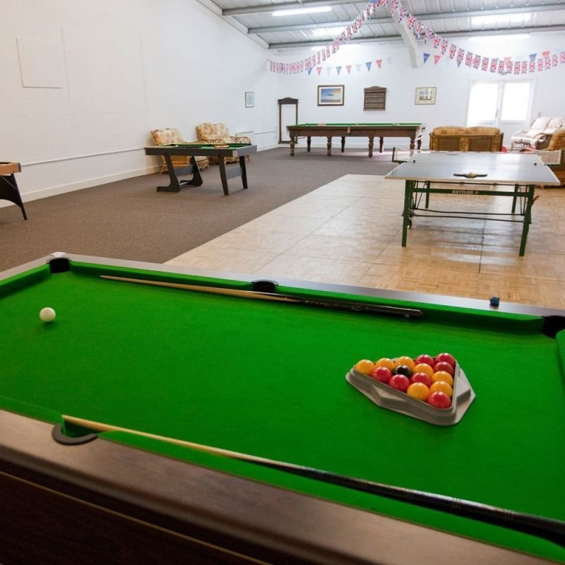 Complimentary Games Room