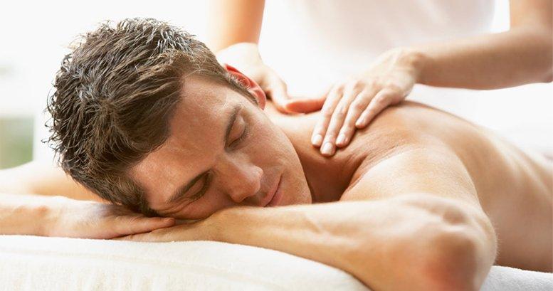 Traditionelle chinesische Öl-Massage