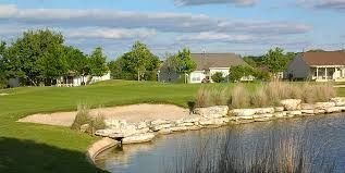 18th hole of White Wing Golf course