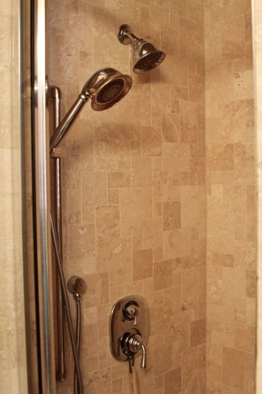 luxury in the shower