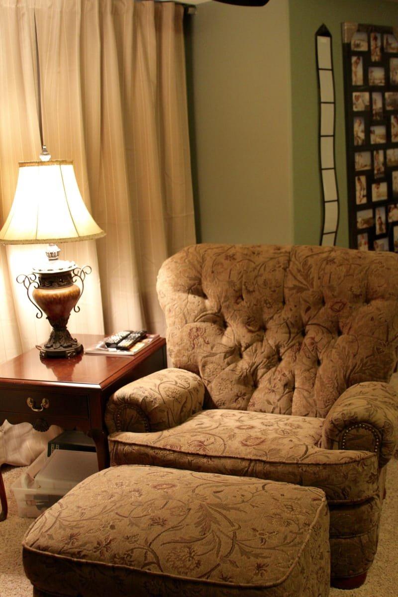 Media room chair