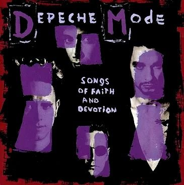Depeche Mode - Songs of faith and devotion - CD