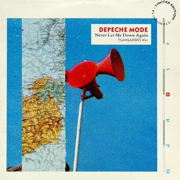 Deepche Mode - Never let me down again - [Limited edition]