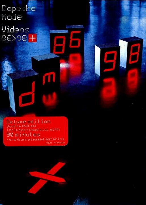Depeche Mode - The videos 86>98+ - [DVD]