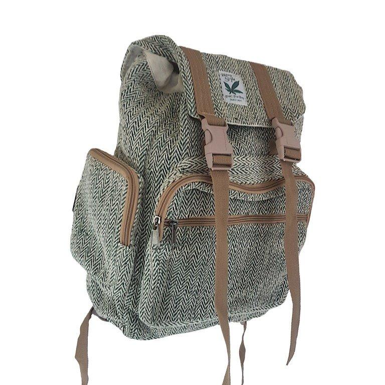 Hemp one earth backpack