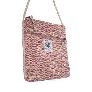 Hemp rose style handbag