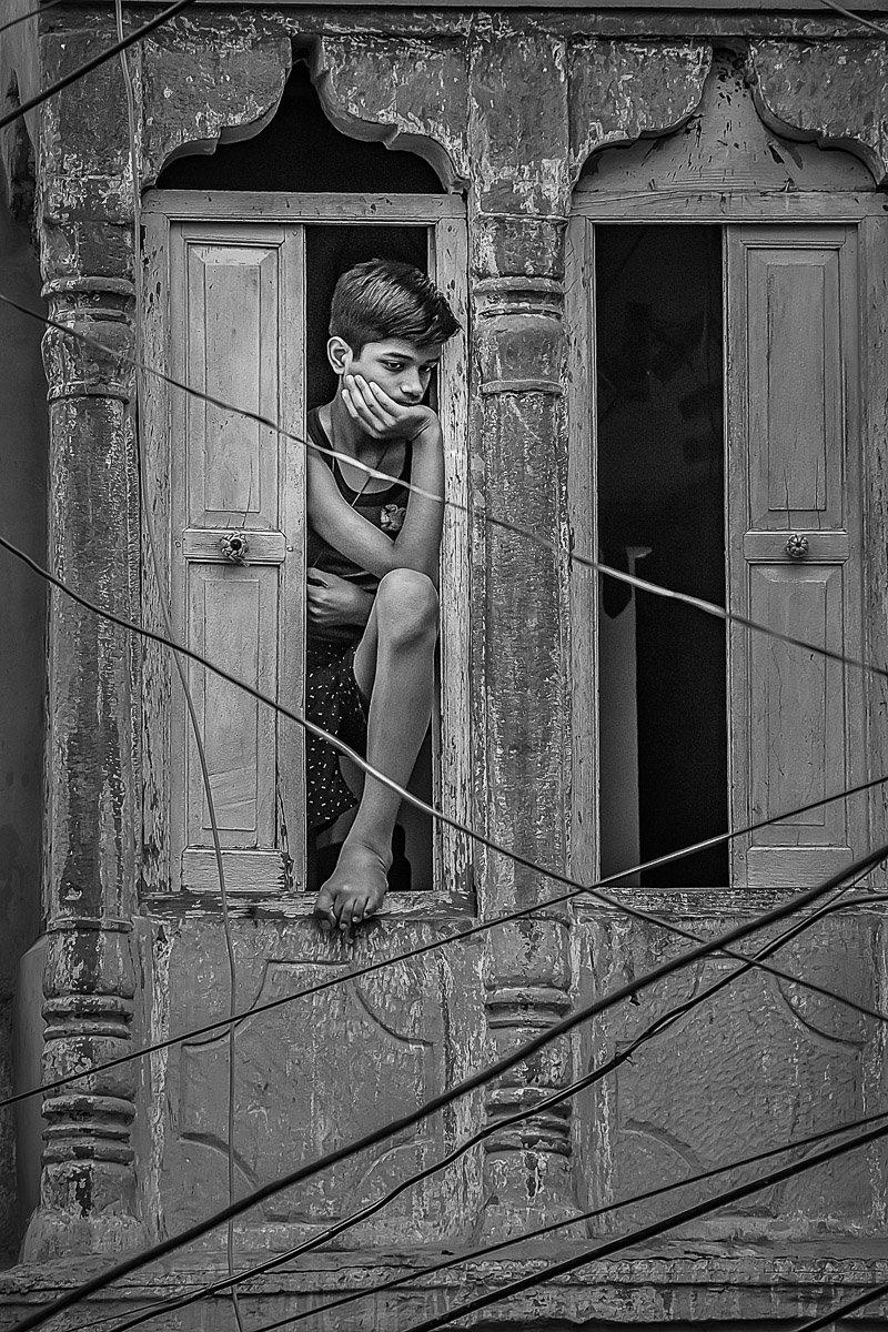 The Boy in the Window