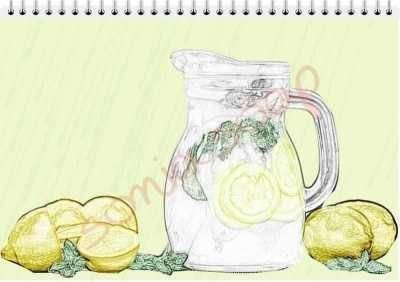 Γάλα Γαϊδούρας & Φυσικός Χυμός Λεμονιού