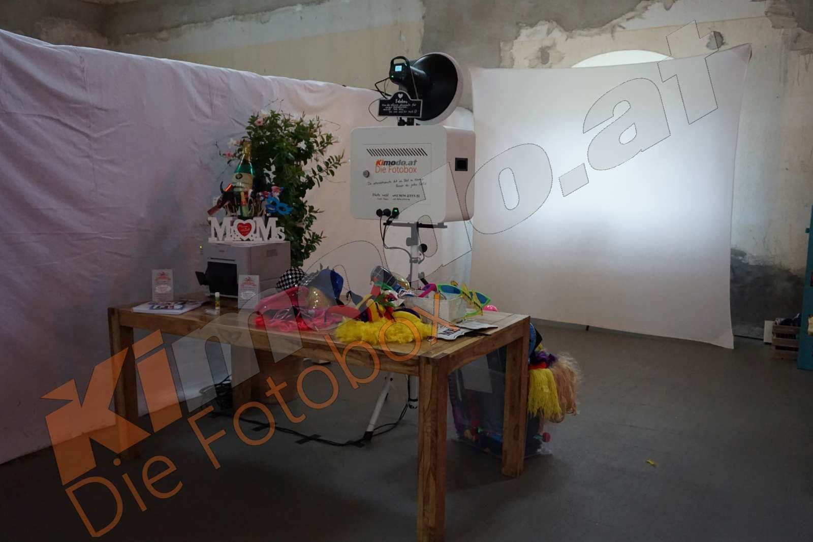 Kimodo Fotobox mieten Österreich