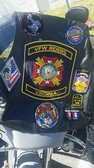 Legacy Of Tyr Council Member Participates In VFW Fundraiser Ride