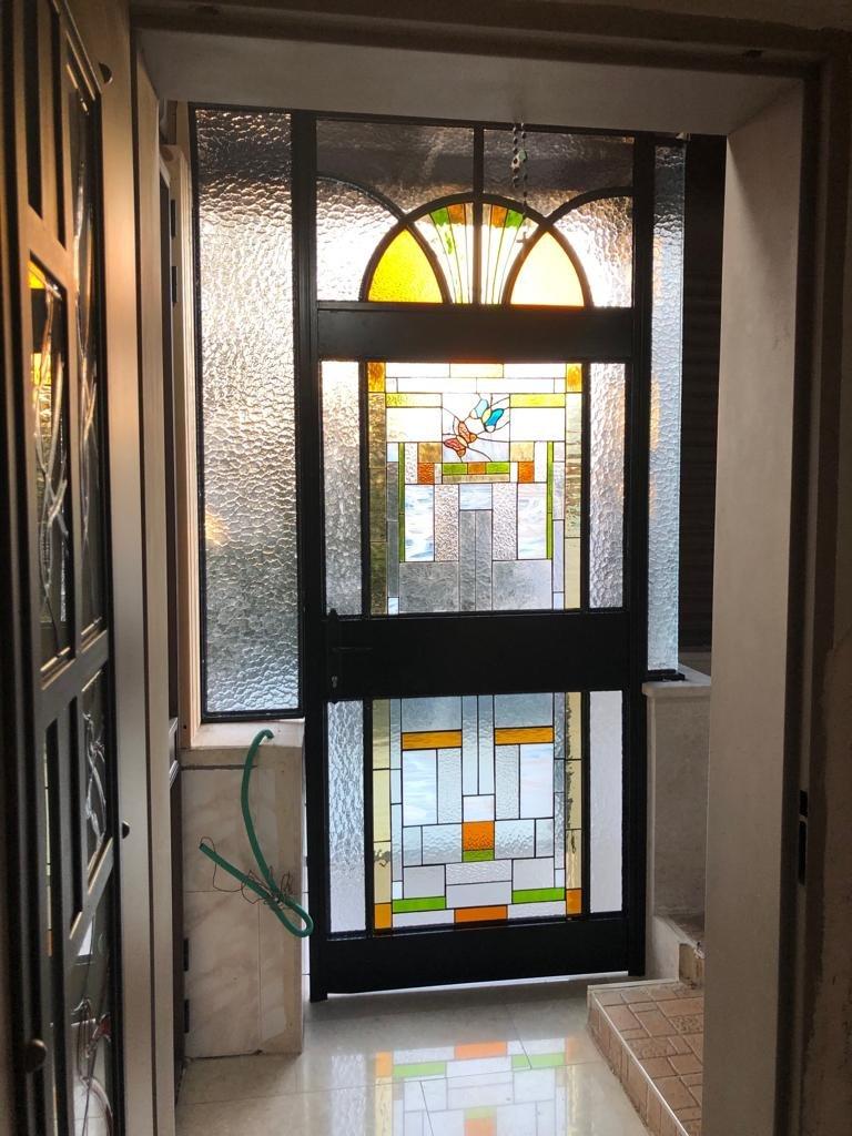 חלון מעוצב ויטראז לפרופיל בלגי