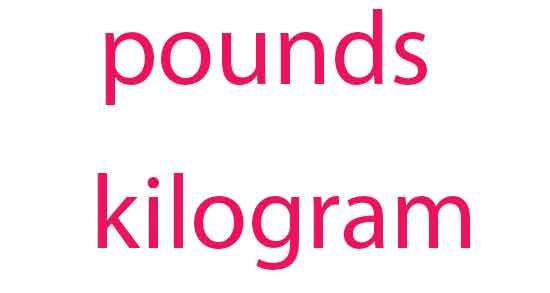 هر پوند چند کیلو , هر پوند چند کیلوگرم است , هر پوند چند گرم است