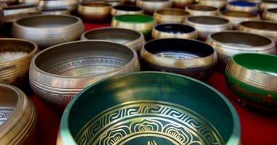1. Singing bowls