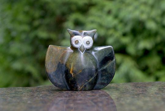 Soapstone Owl figurine