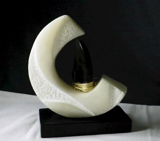 Alabaster Chlorite abstract