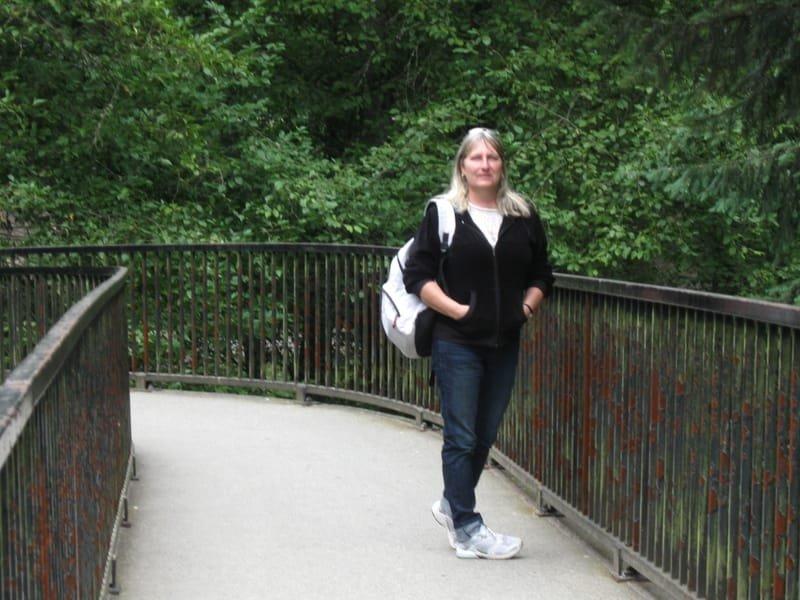UBC walk